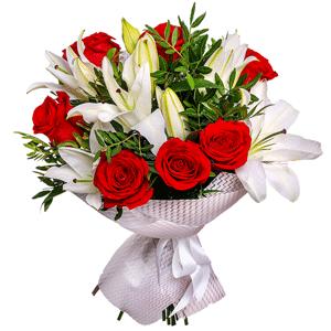 Доставка цветов в уфе оплата через интернет живые цветы на стол молодоженов фото